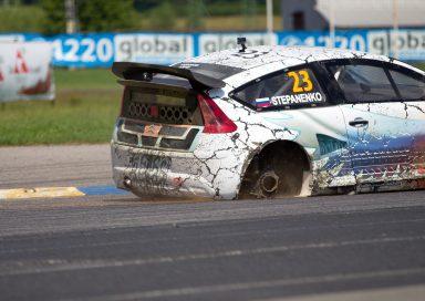 Rallycross challenge Sosnová 2015